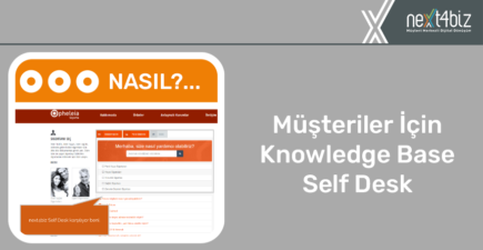 Müşteriler için Knowledge Base – Self Desk