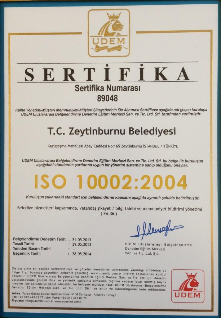 zeytinburnu-iso-10002-belgesi-sertifika