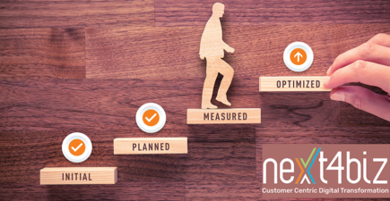 Customer Service Maturity Model by next4biz