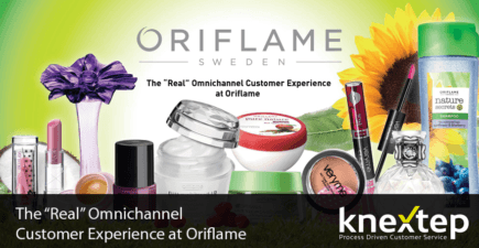 Oriflame achieved a success story with Knextep
