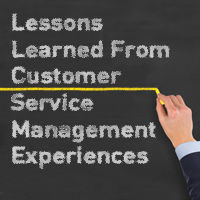 Lessons Learned from Customer Service Management Experiences