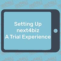 How to Setup Next4biz, A Trial Experience