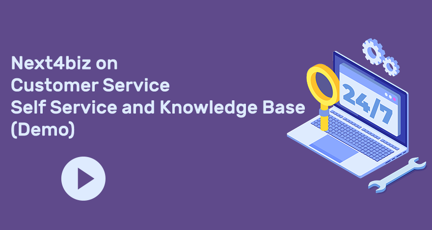 Next4biz on Customer Service Self Service and Knowledge Base